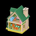 Casa delle bambole (Verde)