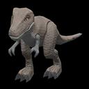 Dinosauro giocattolo (Grigio)