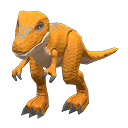 Dinosauro giocattolo (Marrone)