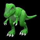Dinosauro giocattolo (Verde)