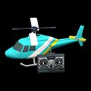 Elicottero telecomandato (Blu chiaro)