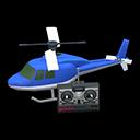 Elicottero telecomandato (Blu)