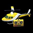 Elicottero telecomandato (Giallo)
