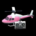 Elicottero telecomandato (Rosa)