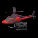 Elicottero telecomandato (Rosso)