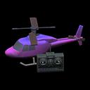 Elicottero telecomandato (Viola)