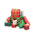 Mucchio di regali (Rosso e verde)