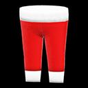 Pantalone da Babbo Natale (Rosso)