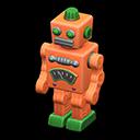 Robot di latta (Arancio)