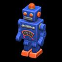 Robot di latta (Blu)