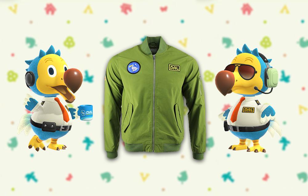 Animal Crossing: New Horizons, disponibili all'acquisto le giacche da pilota Dodo Airlines dal merchandise ufficiale Nintendo!