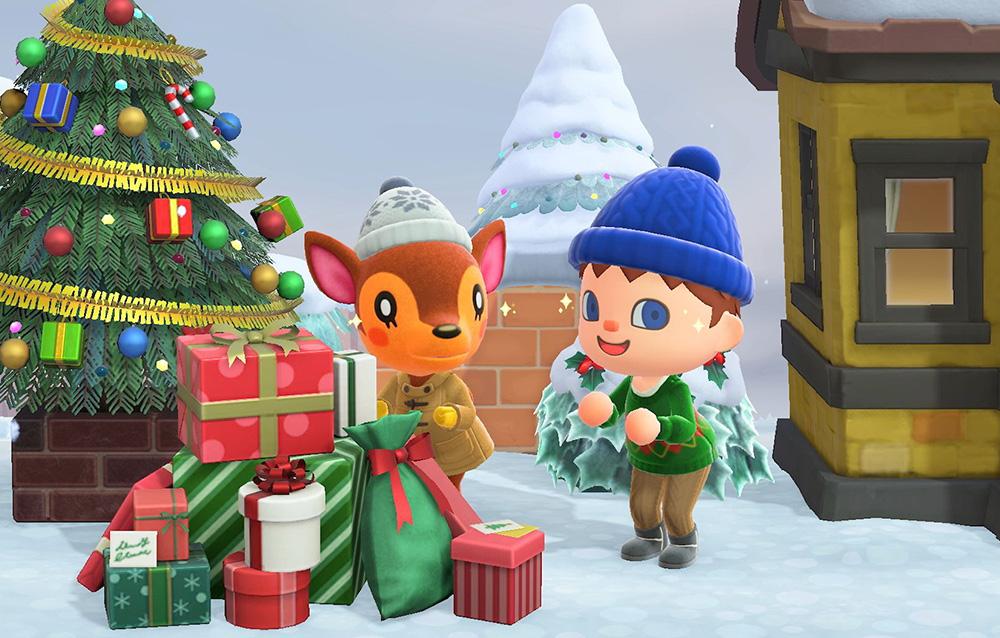 Animal Crossing: New Horizons, rilasciato un nuovo trailer per le festività di Natale e fine anno!