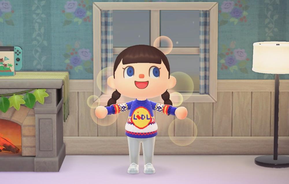 Animal Crossing: New Horizons, la Lidl ha pubblicato il modello  personalizzato per il suo maglione natalizio! • Animal Crossing Life