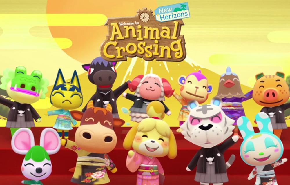 Animal Crossing: New Horizons, Nintendo ci augura un buon anno nuovo con un nuovo video!