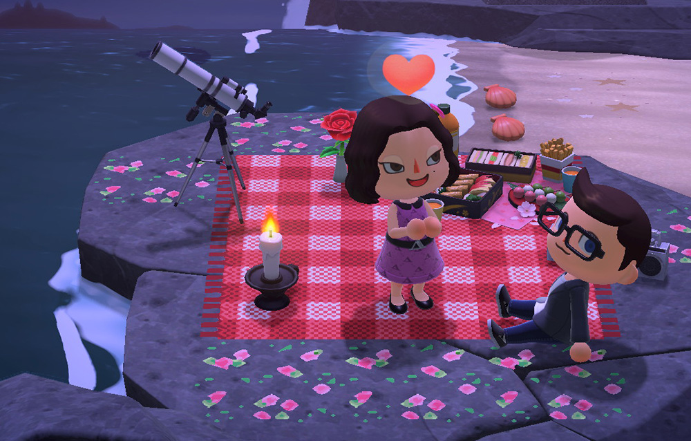 Animal Crossing: New Horizons ha aiutato a far sbocciare l'amore nonostante le distanze dovute alla pandemia!