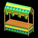 Bancarella Carnevale (Verde)