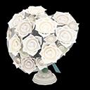 Bouquet a cuore (Bianco)