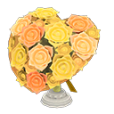 Bouquet a cuore (Giallo)