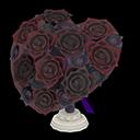 Bouquet a cuore (Nero)