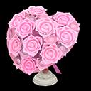 Bouquet a cuore (Rosa)