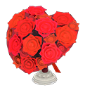 Bouquet a cuore (Rosso)
