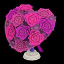 Bouquet a cuore (Viola)