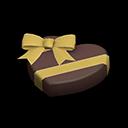 Ciocco-cuore (Cioccolato fondente)