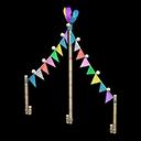 Festone Carnevale (Arcobaleno)