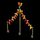 Festone Carnevale (Rosso)