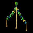 Festone Carnevale (Verde)