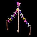 Festone Carnevale (Viola)
