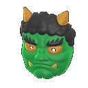 Maschera da orco (Verde)
