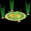 Palcoscenico Carnevale (Verde)