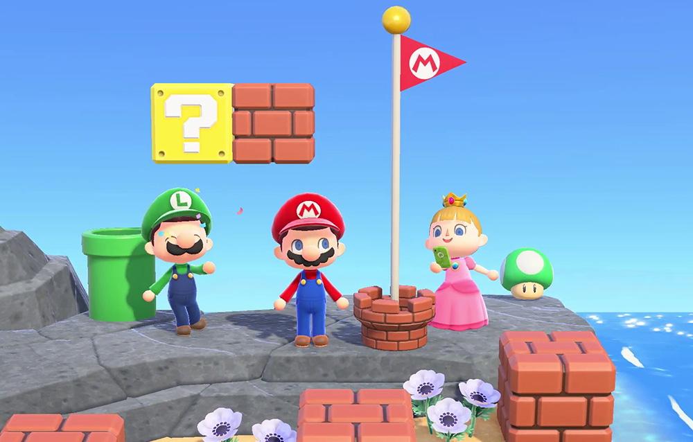 Annunciato l'aggiornamento di Animal Crossing: New Horizons in collaborazione con Super Mario, in arrivo nei prossimi giorni!