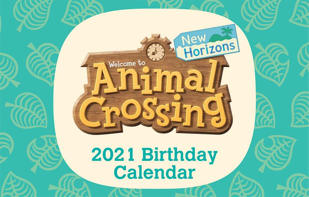 Disponibile il calendario 2021 di My Nintendo a tema Animal Crossing: New Horizons!