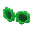 Montatura trifoglio (Verde)