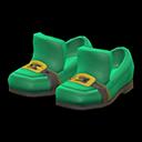 Paio di scarpe trifoglio (Verde)