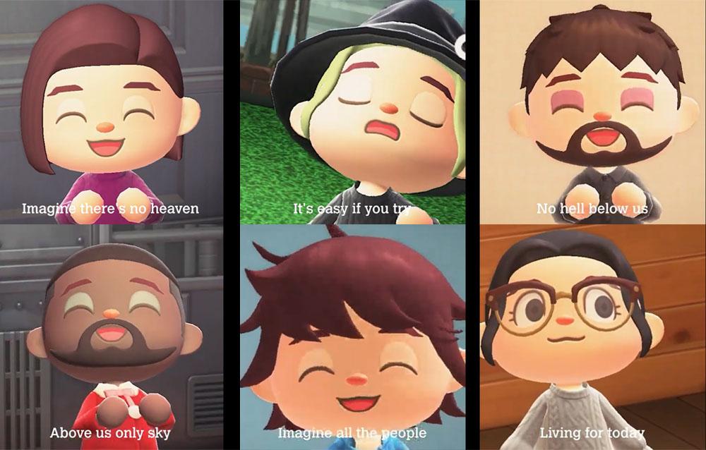 """La canzone """"Imagine"""" di John Lennon è stata ricreata su Animal Crossing: New Horizons in chiave K.K.!"""