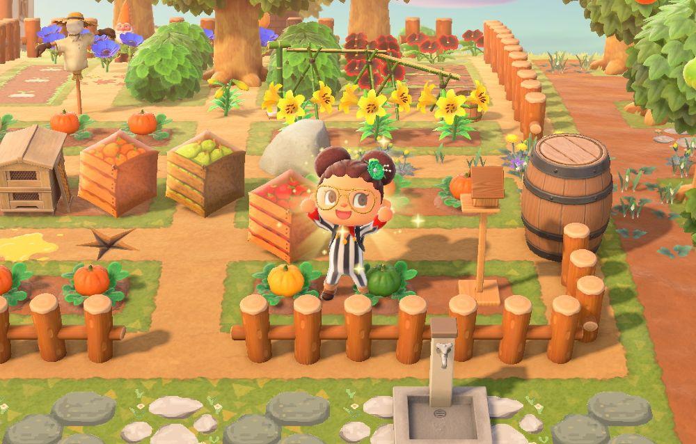 Animal Crossing: New Horizons, i fan stanno usando i modelli degli ombrelli per creare l'illusione di nuovi oggetti!
