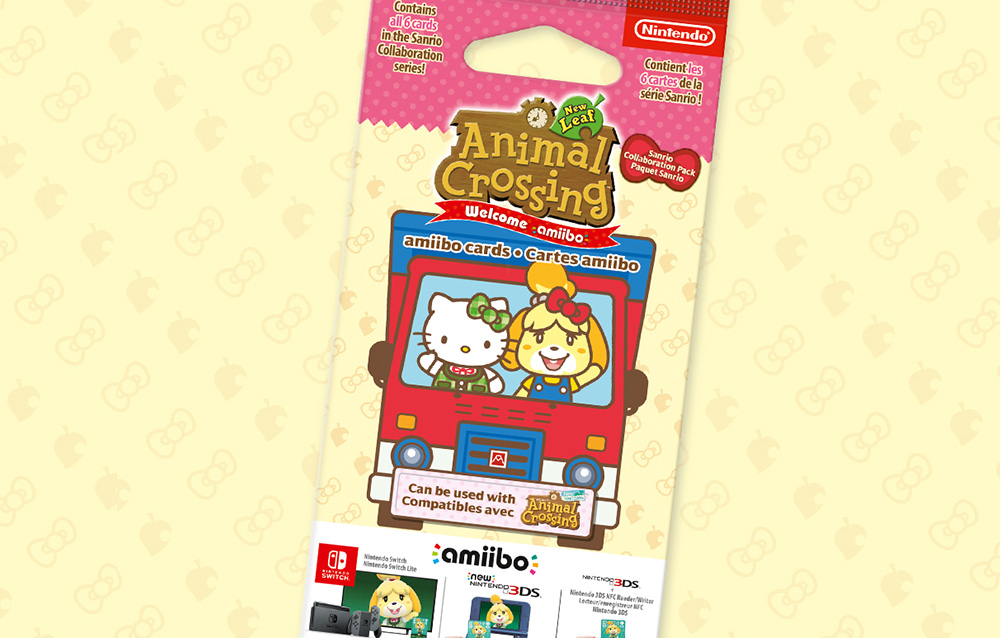 Prezzo alle stelle su Ebay per le nuove carte Amiibo di Animal Crossing: New Horizons in collaborazione con Sanrio!