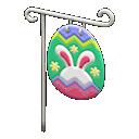 Bandiera caccia all'uovo