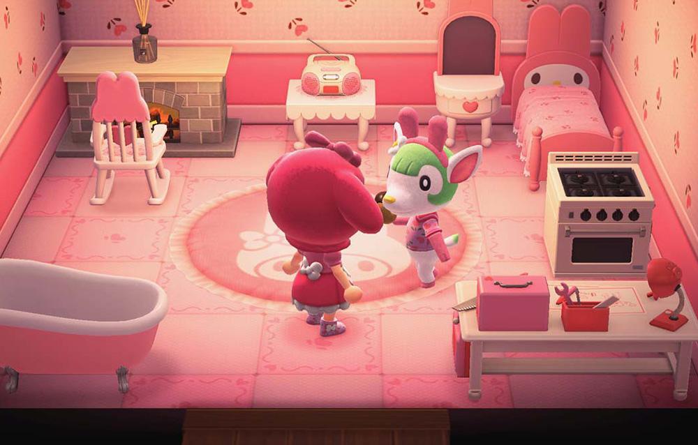 Come ottenere gli oggetti e i vestiti a tema My Melody della serie Sanrio in Animal Crossing: New Horizons