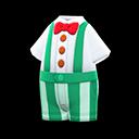 Costume Kerokerokeroppi (Verde)