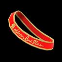 Fascia ballo scolastico (Rosso)