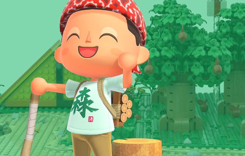 Animal Crossing: New Horizons, rilasciato un altro teaser della collaborazione italiana con la community LEGO® OrangeTeam LUG!