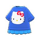 Maglietta Hello Kitty (Blu)