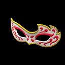 Maschera decorata (Rosso)
