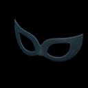 Mascherina da ballo (Nero)