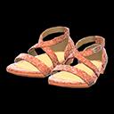 Paio di scarpe da ballo (Arancio)
