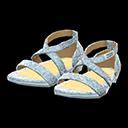 Paio di scarpe da ballo (Argentato)